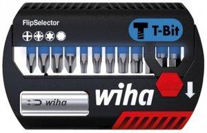 Фото Wiha T-Bit 41826 Набор бит PH/PZ/HX/TX 25 мм (Cr-V, магнит, 13 шт)