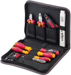 Фото Wiha 41241 Набор инструментов диэлектрических 1000В 80-125 мм (сумка, 31 шт)