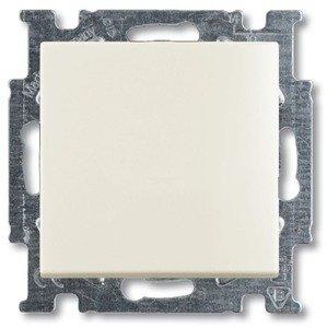 Фото ABB Basic55 2CKA001413A1083 Выключатель одноклавишный (Н.О. контакт, 10 А, под рамку, скрытая установка, слоновая кость)