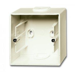 Фото ABB Basic55 2CKA001799A0971 Коробка для открытого монтажа (слоновая кость)