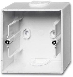 Фото ABB Basic55 2CKA001799A0974 Коробка для открытого монтажа (альпийский белый)