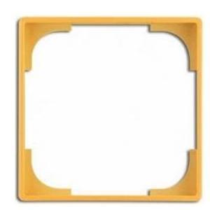 Фото ABB Basic55 2CKA001726A0226 Вставка декоративная в рамку (желтая)