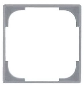 Фото ABB Basic55 2CKA001726A0223 Вставка декоративная в рамку (серебристый металлик)