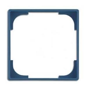 Фото ABB Basic55 2CKA001726A0222 Вставка декоративная в рамку (аттика/синий)