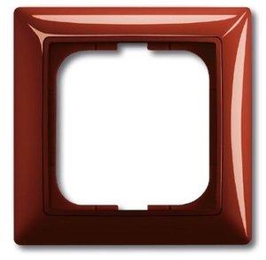 Фото ABB Basic55 2CKA001725A1516 Рамка 1-постовая (foyer-красный)