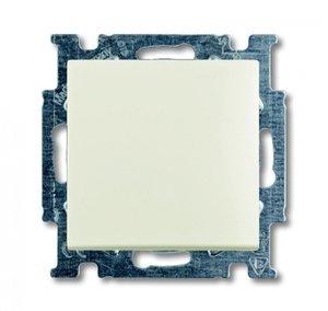 Фото ABB Basic55 2CKA001012A2184 Выключатель одноклавишный (10 А, под рамку, скрытая установка, chalet-белый)