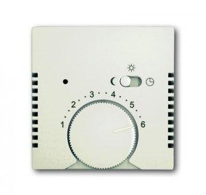 Фото ABB Basic55 2CKA001710A3939 Накладка терморегулятора поворотного (с переключателем, chalet-белый)