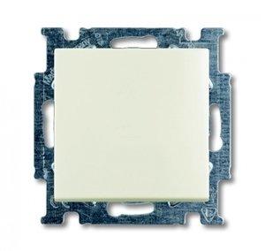 Фото ABB Basic55 2CKA001012A2189 Переключатель одноклавишный (10 А, под рамку, скрытая установка, chalet-белый)