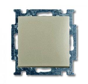 Фото ABB Basic55 2CKA001413A1091 Выключатель одноклавишный (Н.О. контакт, 10 А, под рамку, скрытая установка, шампань)