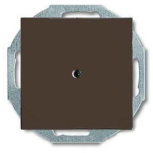 Фото ABB Basic55 2CKA001710A3936 Вывод кабеля (под рамку, с/у, chateau-черный)