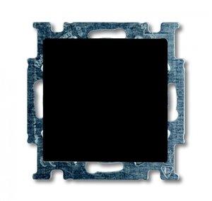 Фото ABB Basic55 2CKA001413A1095 Выключатель одноклавишный (Н.О. контакт, 10 А, под рамку, скрытая установка, chateau-черный)