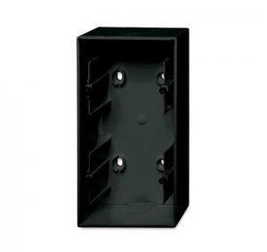 Фото ABB Basic55 2CKA001799A0966 Коробка двойная для открытого монтажа (chateau-черный)