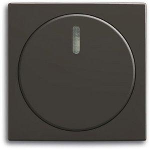 Фото ABB Basic55 2CKA006599A2991 Крышка роторного диммера (подсветка, chateau-черный)