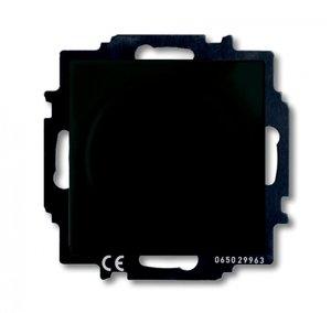 Фото ABB Basic55 2CKA006515A0846 Светорегулятор поворотно-нажимной (400 Вт, под рамку, скрытая установка, chateau-черный)