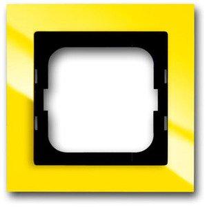 Фото ABB Busch-Axcent 2CKA001754A4334 Рамка 1-постовая (желтая)