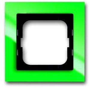 Фото ABB Busch-axcent 2CKA001754A4337 Рамка 1-постовая (зеленая)