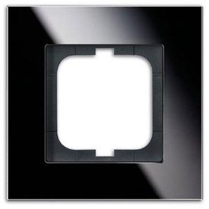 Фото ABB carat 2CKA001754A4322 Рамка 1-ая (стекло черное)