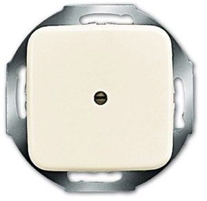 Фото ABB Busch-Duro 2000/Reflex 2CKA001710A0623 Вывод кабеля (под рамку, с/у, бежевый)