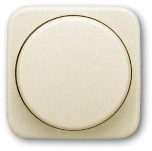 Фото ABB Busch-Duro 2000/Reflex 2CKA006599A1334 Накладка светорегулятора с поворотной рукояткой (подсветка, слоновая кость)