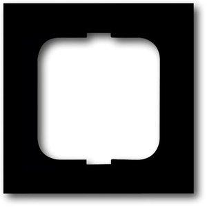 Фото ABB Future Linear 2CKA001754A4532 Рамка 1-постовая (черный бархат)