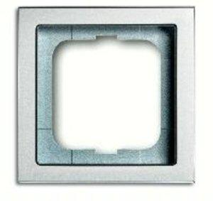 Фото ABB Future Linear 2CKA001754A4529 Рамка 1-постовая (алюминий)