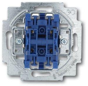 Фото ABB Allwetter/Alpha Exclusive 2CKA001012A2197 Выключатель жалюзи двухклавишный (10 А, с фиксацией, механизм, с/у)