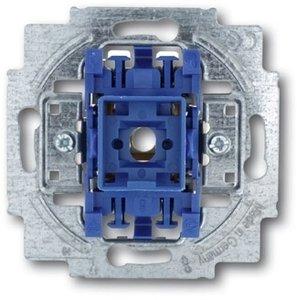Фото ABB Busch-Jaeger 2CKA001413A0483 Выключатель одноклавишный Н.О. контакт (10 А, с возм. подсветки, механизм, скрытая установка)