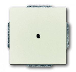 Фото ABB Busch-Axcent 1710-0-3976 Вывод кабеля с суппортом (под рамку, с/у, chalet-белый)