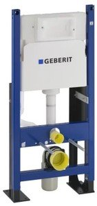 Фото Geberit Duofix Delta 457.570.00.1 Система инсталляции усиленная для подвесного унитаза (рама, бачок)