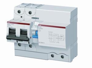 Фото ABB DS802N 2CCB892004R0845 Выключатель дифференциального тока двухполюсный 125A 30мА (тип A)