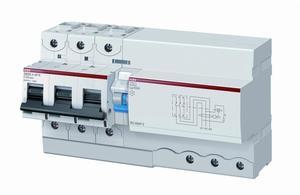 Фото ABB DS803N 2CCA893005R0845 Выключатель дифференциального тока трехполюсный 125A 300мА (тип A)