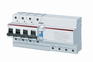 Фото ABB DS803N 2CCA893005R0841 Выключатель дифференциального тока трехполюсный 125A 300мА (тип A)