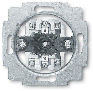 Фото ABB Busch-Jaeger 2CKA001101A0542 Выключатель жалюзийный поворотный (10 А, с фиксацией, механизм, скрытая установка)
