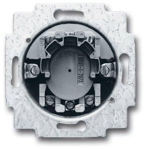 Фото ABB Busch-Jaeger 2CKA001101A0872 Выключатель жалюзийный с ключом двухполюсный (10 А, механизм, скрытая установка)