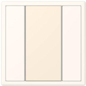 Фото Jung Le Corbusier LC50NA4320B Накладка для кнопочного модуля (blanc ivoire)