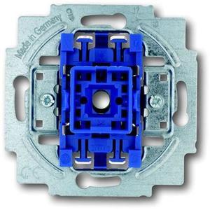 Фото ABB Busch-Jaeger 1012-0-2034 Выключатель одноклавишный двухполюсный (10 А, механизм, скрытая установка)