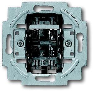 Фото ABB Busch-Jaeger 1413-0-0590 Выключатель жалюзийный (10 А, без фиксации, механизм, скрытая установка)