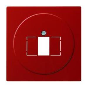 Фото Gira S-Color 027643 Крышка розетки USB (USB/TAE, красная)