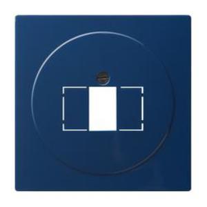 Фото Gira S-Color 027646 Крышка розетки USB (USB/TAE, синяя)
