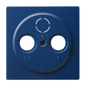Фото Gira S-Color 086946 Крышка розетки телевизионной (TV+Radio+(SAT), синяя)