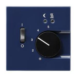 Фото Gira S-Color 149446 Крышка для терморегулятора (датчик, синяя)