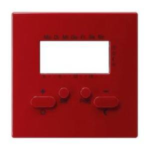 Фото Gira S-Color 146943 Крышка для терморегулятора с часами и функцией охлаждения (красная)
