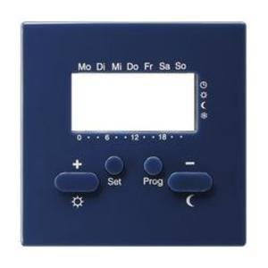 Фото Gira S-Color 146946 Крышка для терморегулятора с часами и функцией охлаждения (синяя)