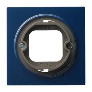 Фото Gira S-Color 065946 Крышка для светового сигнала с байонетным замком (синяя)
