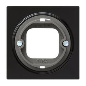Фото Gira S-Color 065947 Крышка для светового сигнала с байонетным замком (черная)