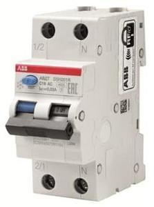 Фото ABB DSN201 2CSR245072R1254 Автоматический выключатель дифференциального тока однополюсный+N 25А (тип AC, 4.5 кА)