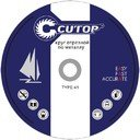 Cutop Profi 39993т Диск отрезной профессиональный по металлу 300х3.2х32 мм Т41