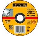 DeWALT Standart DT42360-XJ Диск отрезной по алюминию 125x1.6x22.2 мм Тип 1 (прямой)