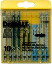 DeWALT DT2294-QZ Набор пилок для электролобзика по дереву (HSS/HCS, 10 шт.)
