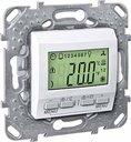 Schneider Electric Unica KNX MGU5.534.18 Термостат электронный 0…+40°С (под рамку, скрытая установка, белый)